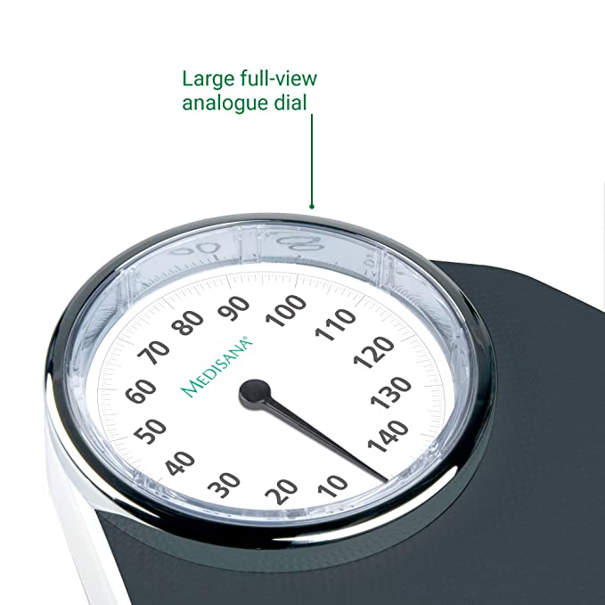 Medisana PSD báscula de personal mecánica hasta 150 kg, analógica ...
