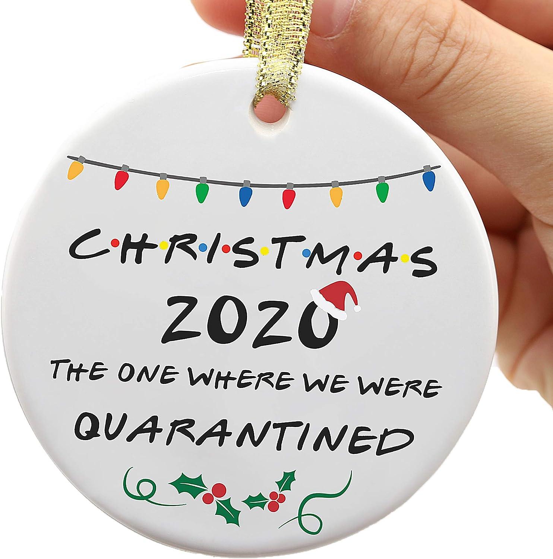Merry Christmas 2020 3d Printer Ornament Amazon.com: Two Side Printed 2020 Christmas Ornament, 2020