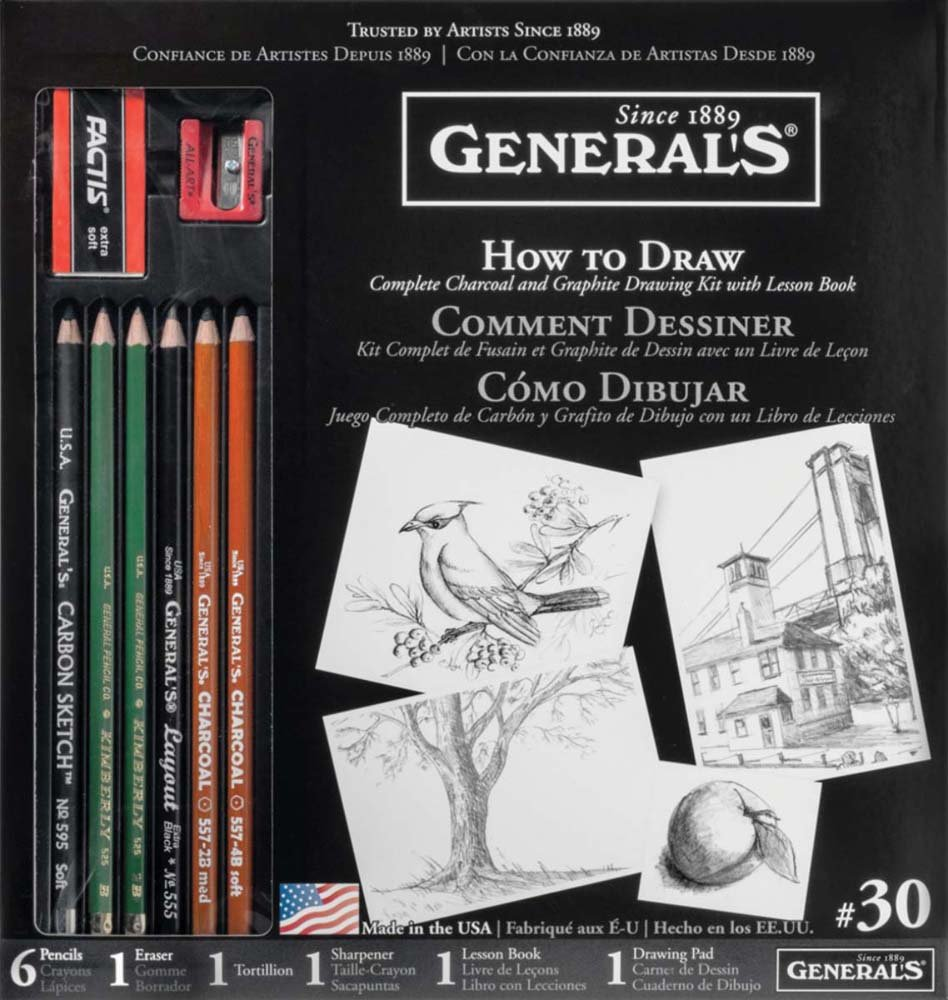 General Pencil 30GP Learn to Draw Now Kit