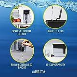Brita Ultra Max Filtering Dispenser, Extra Large 18 Cup, Black