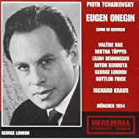 Tchaikovsky - Eugene Onegin Munich 1954