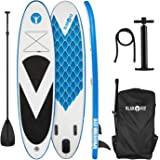 Klarfit Spreestar Tabla de pie Hinchable • Paddleboard • Paddle Surf • Tabla Sup • Bomba de…