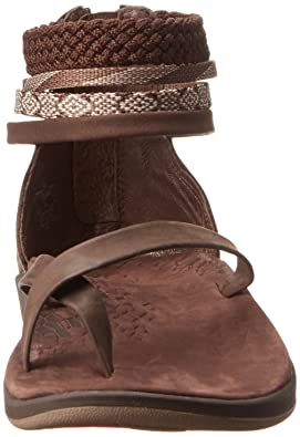eded8fdf67f2 Chaco Women s Dawkins Chocolate Brown Sandal J103606 4 UK  Amazon.co.uk   Shoes   Bags