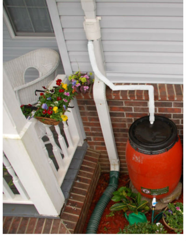 Rain Barrel Diverter Basic System/Kit