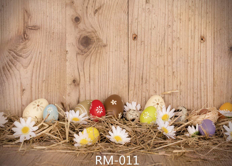 【内祝い】 7 X 5ft Easter EggテーマフォトBackdrops木製床カスタマイズStudio rm-011 CP背景Studio Props X rm-011 7 B01MZ8S4OW, 株式会社セツビコム エアコン館:530c39fe --- a0267596.xsph.ru