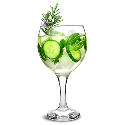 gin tonic gl ser cocktail ballongl ser set von 6 von. Black Bedroom Furniture Sets. Home Design Ideas