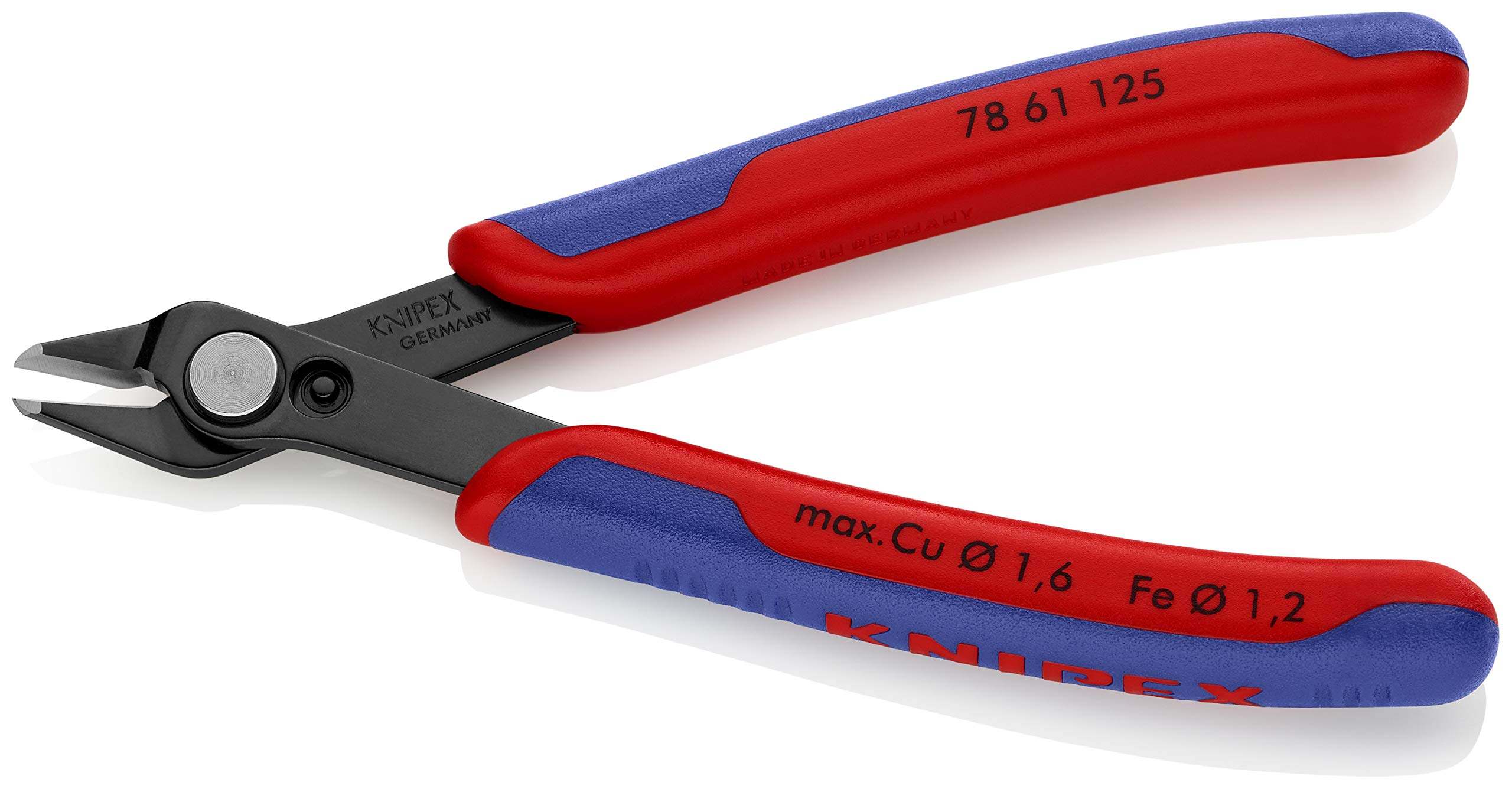 KNIPEX Tools 78 61 125 5-Inch Electronics Super Knips Comfort Grip by KNIPEX Tools