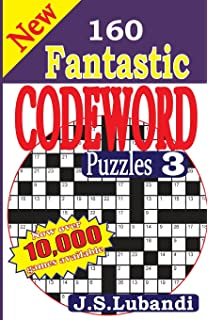 new 160 fantastic codeword puzzles 3 volume 3