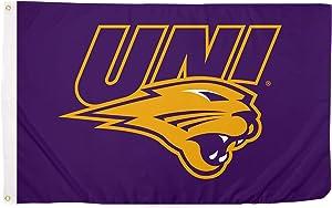 Desert Cactus University of Northern Iowa UNI Panthers NCAA 100% Polyester Indoor Outdoor 3 feet x 5 feet Flag