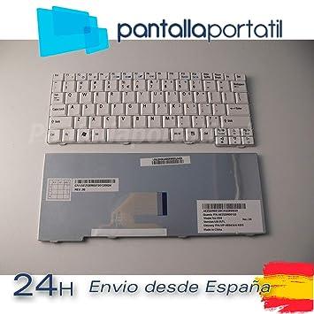 Desconocido Teclado USA Nuevo Acer Aspire One ZG5 D230 ZG8 D150 P531H Blanco Castellano: Amazon.es: Electrónica