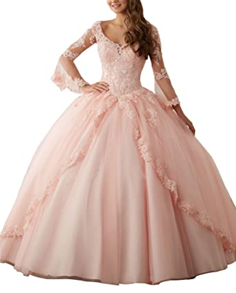 Long Sleeve Prom Dresses Corset