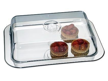 Chg 18623FR-07 - Bandeja de aperitivos con tapa (42 x 31 x 8