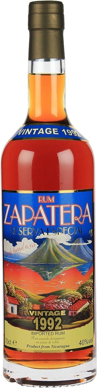 Zapatera Reserva especial 1992 Rum (1 x 0,7 l): Amazon.es ...