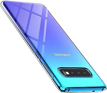 anccer Funda para Samsung Galaxy S10 Plus, Silicona Transparente ...
