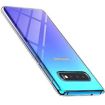 anccer Funda para Samsung Galaxy S10 Plus, Silicona Transparente Protector Gel Ultra Fina Protección Case Compatible para Samsung Galaxy S10+ ...