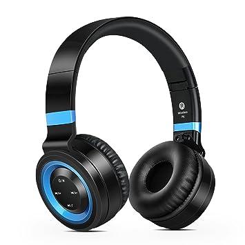 Sound Intone P6 - Auriculares inalámbricos con micrófono HD: Amazon.es: Electrónica