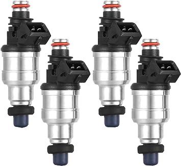 Set 4 500cc Fuel Injectors For Honda B16 B18 B20 D16 D18 F22 H22 H22A VTEC