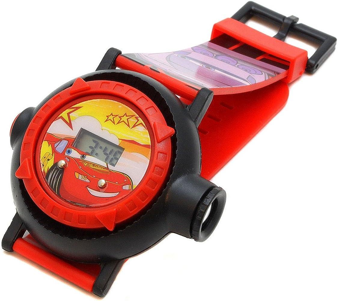 Disney Cars Mcqueen Joven de Reloj de Pulsera Digital con ...