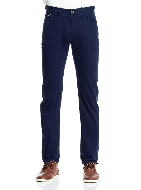 Springfield Pantalón Azul ES 36 FEk2lfM