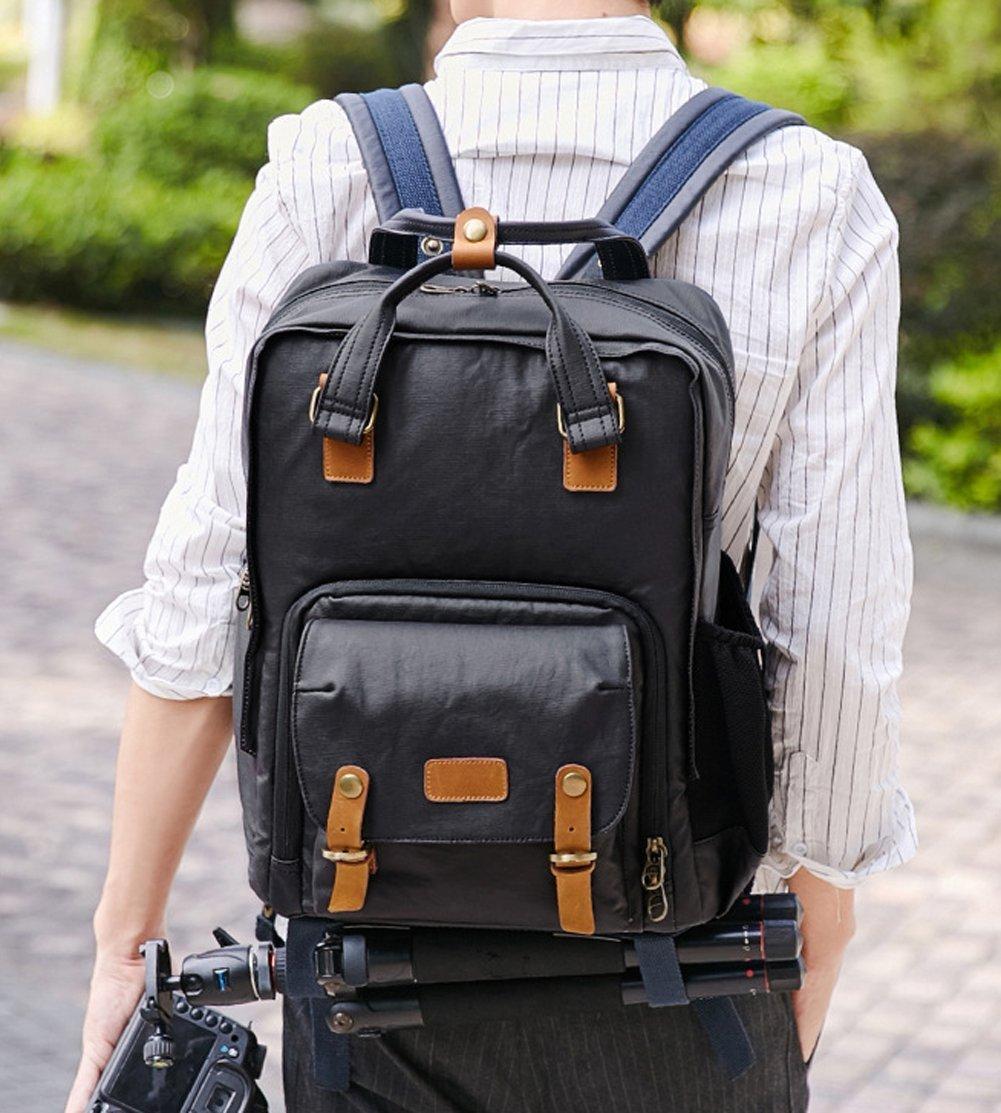 Nlne Außenbereich, mit anti-leisure Travel Fotografie double-shoulder Kameratasche für Digitalkamera, Grün