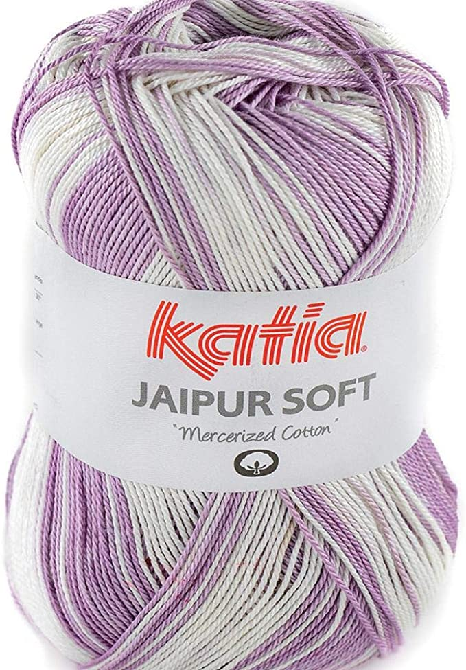Lanas Katia Jaipur Soft Ovillo de Color Plata Cod. 103: Amazon.es: Hogar
