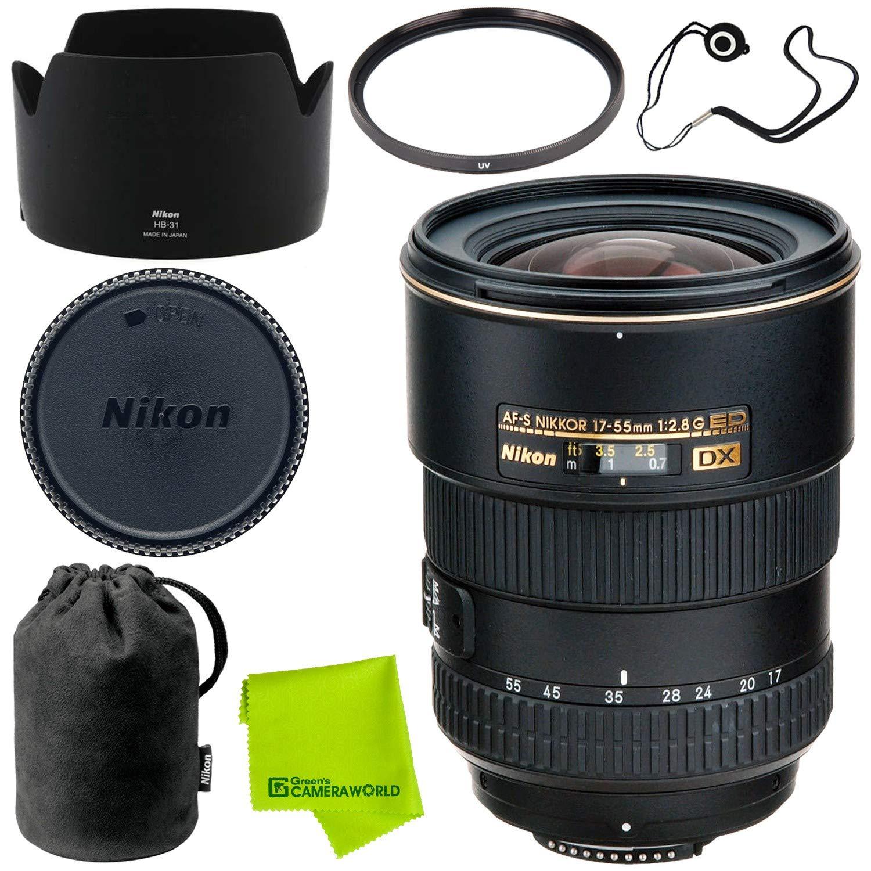 Nikon Af S Dx Zoom Nikkor 17 55mm F 28g If Ed Advanced 105mm Fisheye Bundle Camera Photo