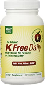 Multivitamin - No Vitamin K - Safe for People on Blood