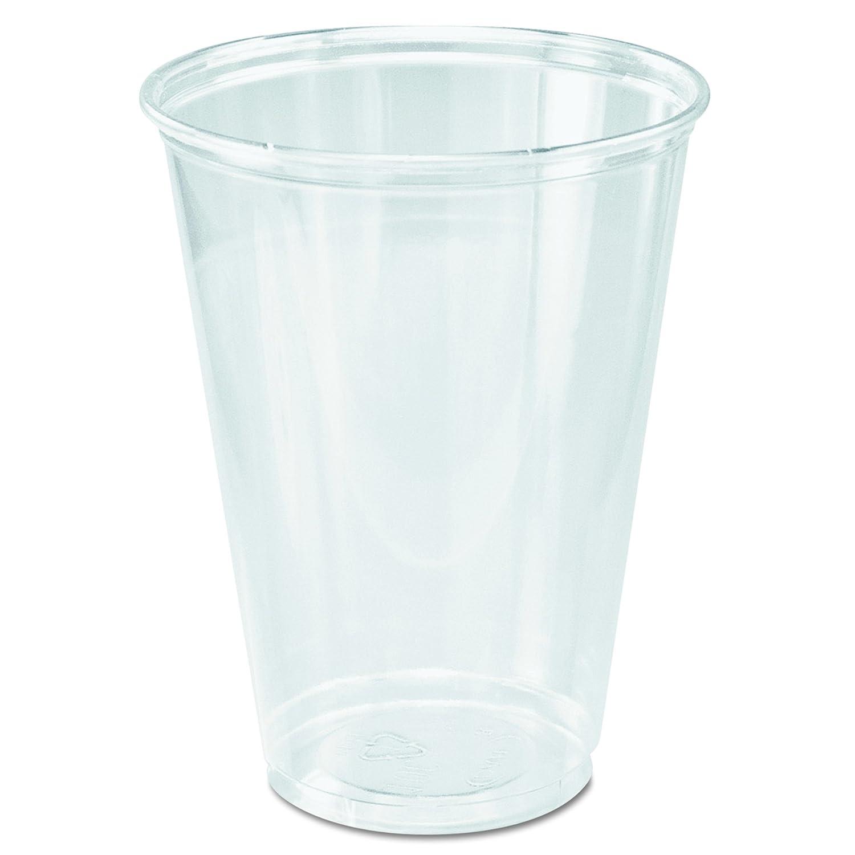 Dart TP10D 10 oz Ultra Clear PET Plastic Cup (Case of 1000)