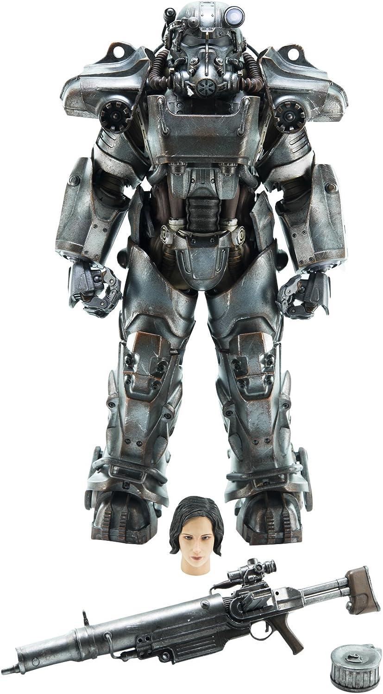 ThreeZero Fallout 4: T-60 Power Armor 1: 6 Escala Figura de acción ...