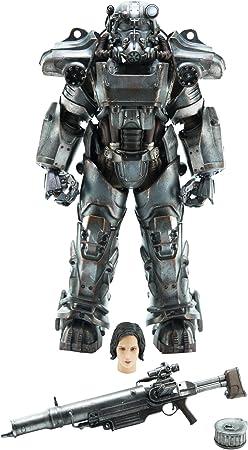 ThreeZero Fallout 4: T-60 Power Armor 1: 6 Escala Figura de acción: Amazon.es: Juguetes y juegos
