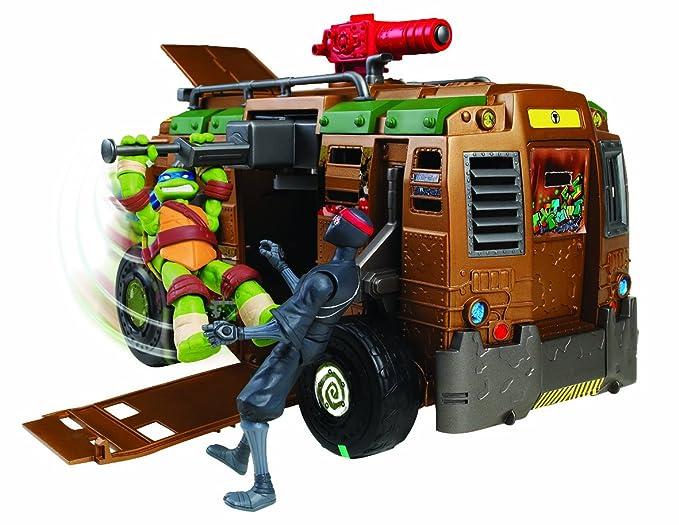 Amazon.com: Teenage Mutant Ninja Turtles Raiser Vehículo ...
