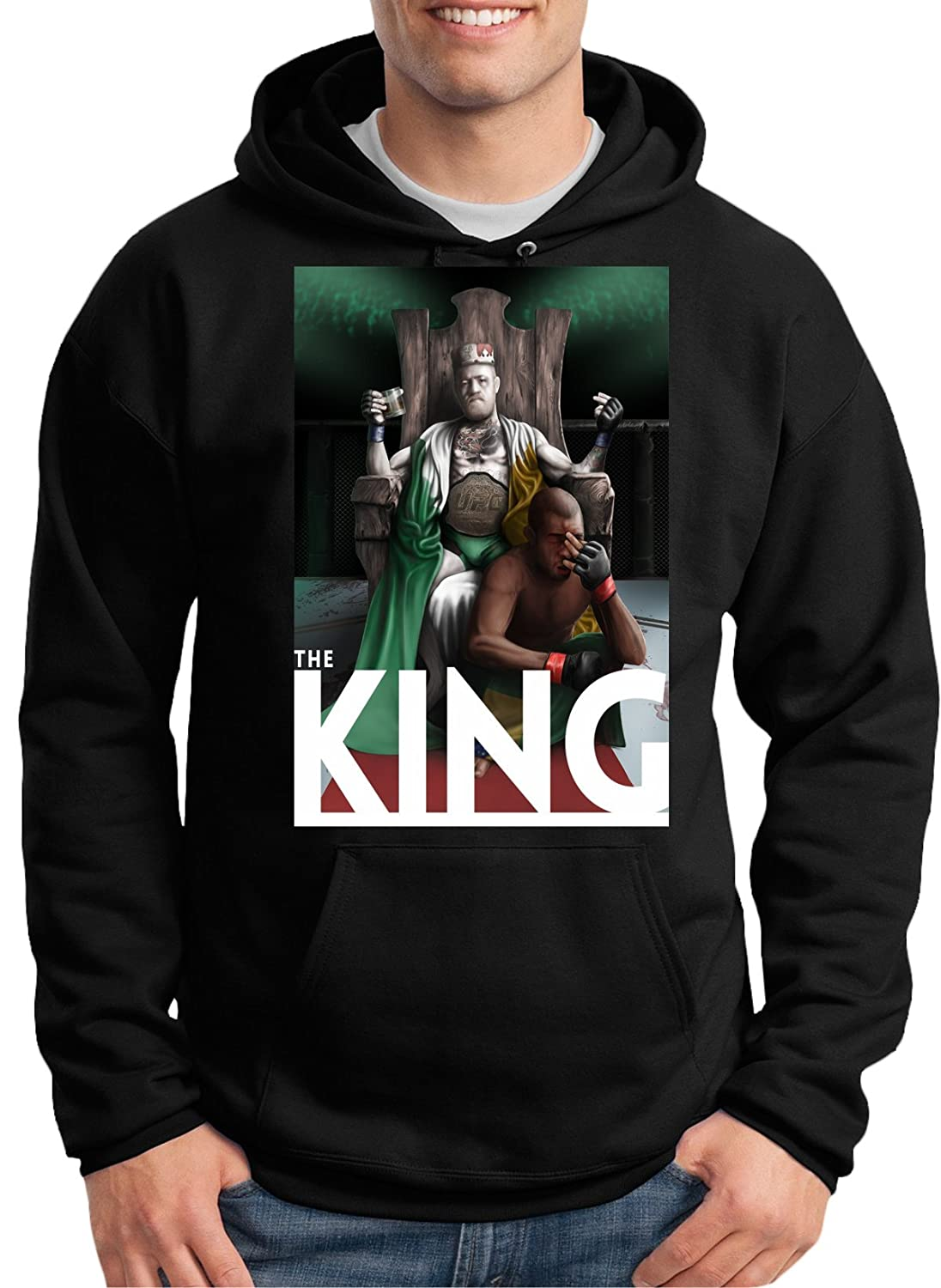 Cheap Conor McGregor 'The King' Hoodie by MYOS for cheap