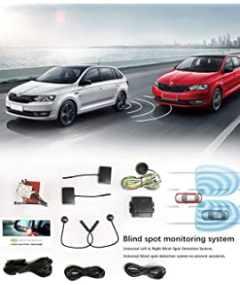 CarBest Radar Based Blind Spot Sensor and Rear Cross Traffic Alert System, BSD, BSM