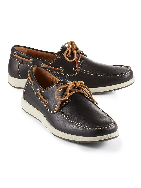 Walbusch Herren Boots-Schuh, Einfarbig  45 EU|Dunkelbraun