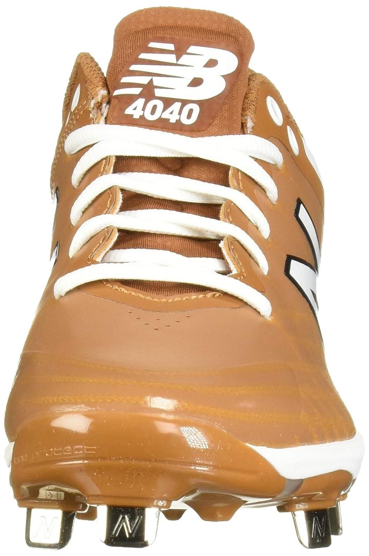 New Balance Herren 4040v5 Metal (Metall), blau Texas/Orange