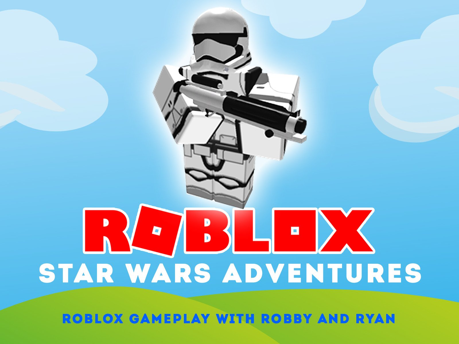 Amazoncom Clip Roblox Star Wars Adventures Roblox Gameplay With