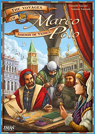 The Voyages of Marco Polo: Venice Agents Expansion: Amazon.es ...