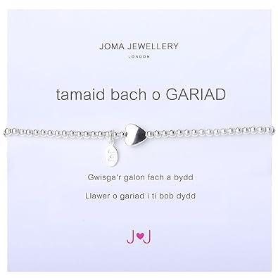 Cymraeg Welsh A Little Thank You Bracelet Nvhp7UWTei