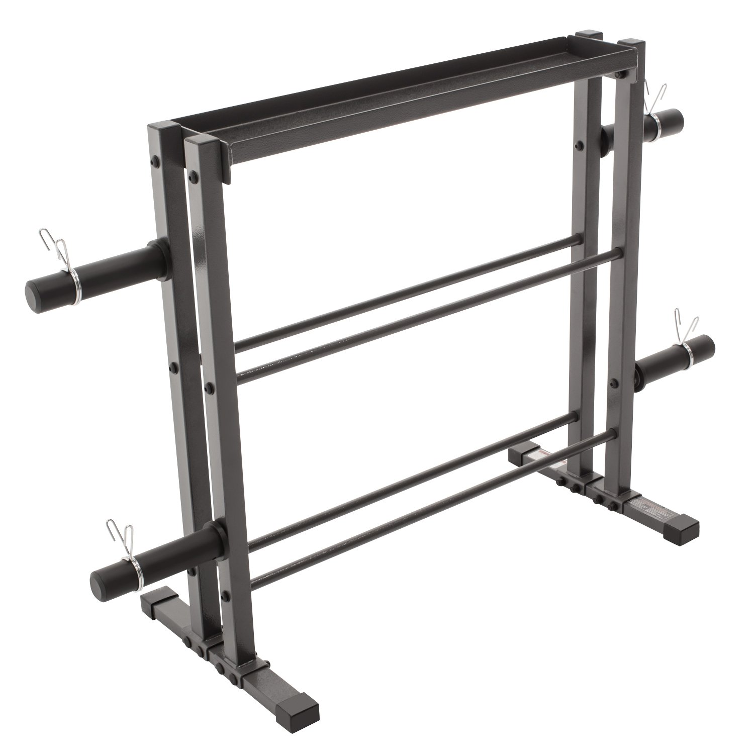 Marcy Combo Weights Storage Rack for Dumbbells, Kettlebells, and Weight Plates DBR-0117 by Marcy