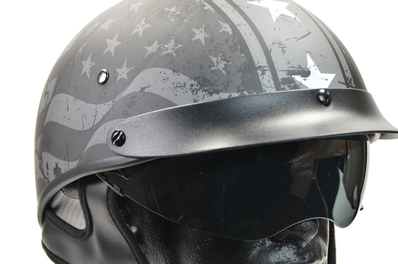 Vega Helmets Unisex-Adult Half Helmet Pearl White X-Small