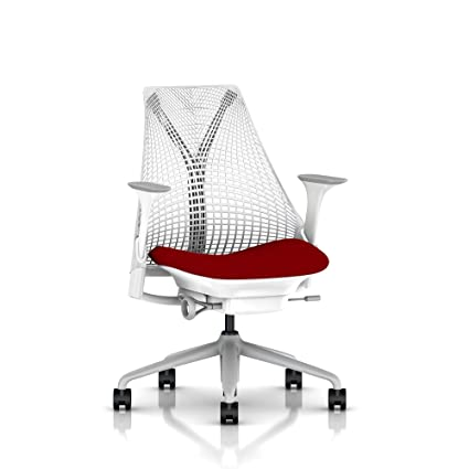 sayl chair adjustments miller sayl herman miller sayl task chair tilt limiter stationary seat depth arms amazoncom