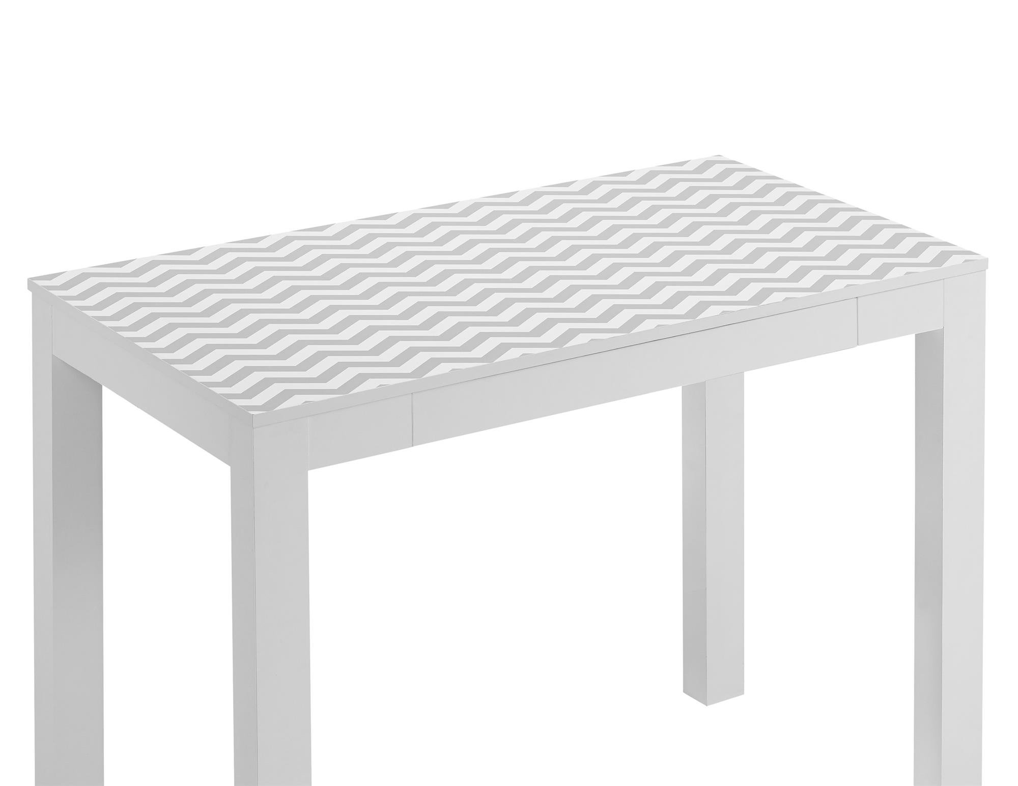 Ameriwood Home Parsons Desk Drawer, White/Gray Chevron by Ameriwood Home (Image #6)