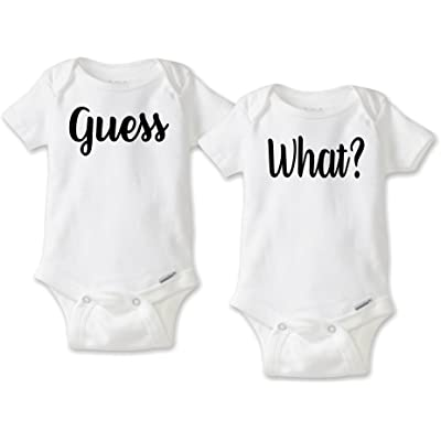guess what twin pregnancy birth reveal set choice of gerber