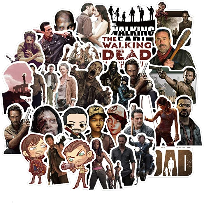 Top 8 The Walking Dead Laptop Decal