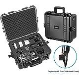 Neewer NW-200防水ハードケース プレカットキューブフォームインサート付き カメラ、GoPro、DJI Quadcopter、レンズ、フラッシュ、その他のアクセサリー、医療機器など収納可「黒」