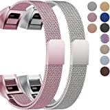 """Oitom Fitbit Alta HR Accessory Bands and Fitbit Alta Band, (2 Size) Large 6.7""""-9.3"""" Small 5.1""""-6.7"""" 2 Pack"""