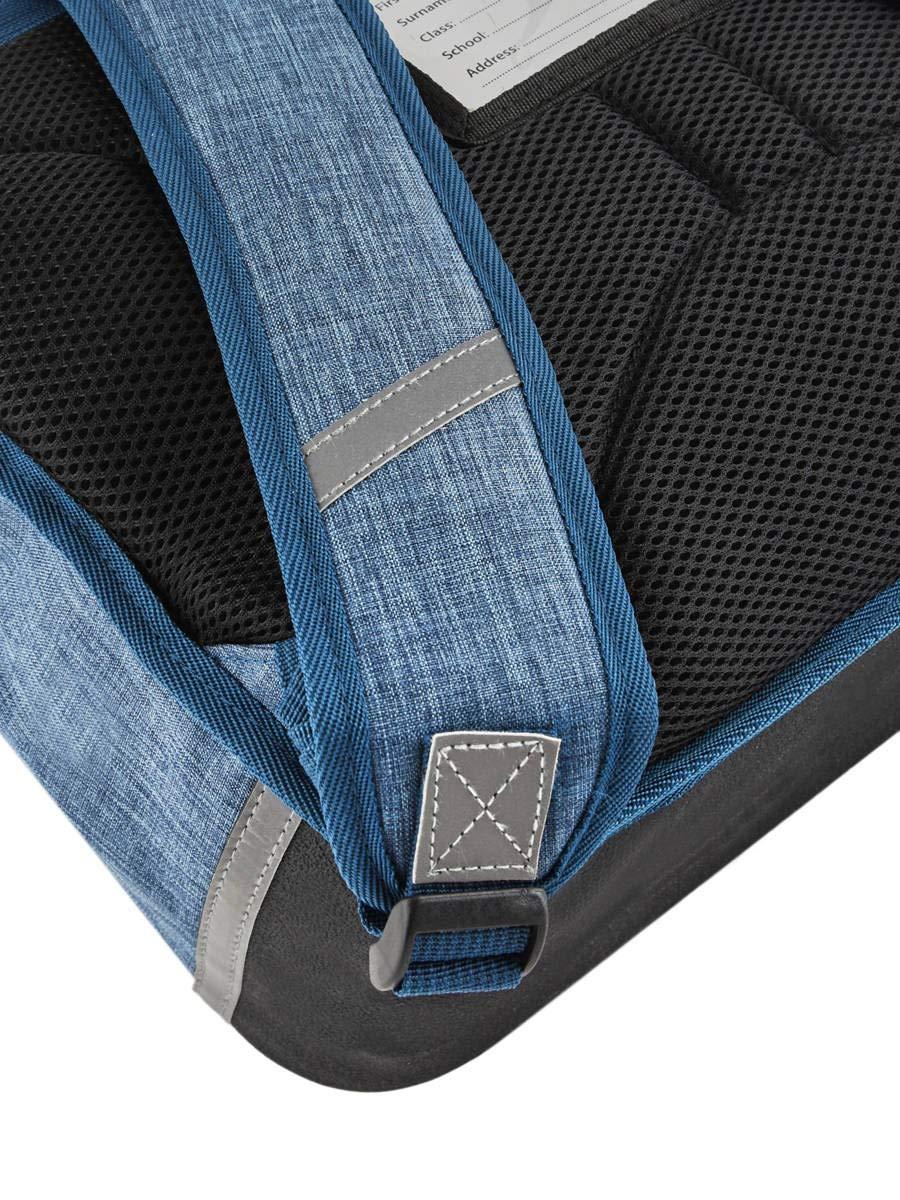 Cartable Fille 2 Compartiments Cameleon Jeune Et Scolaire Bleu
