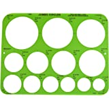 Amazon.com : Staedtler Combo Circle Template 977 110 : Office Products