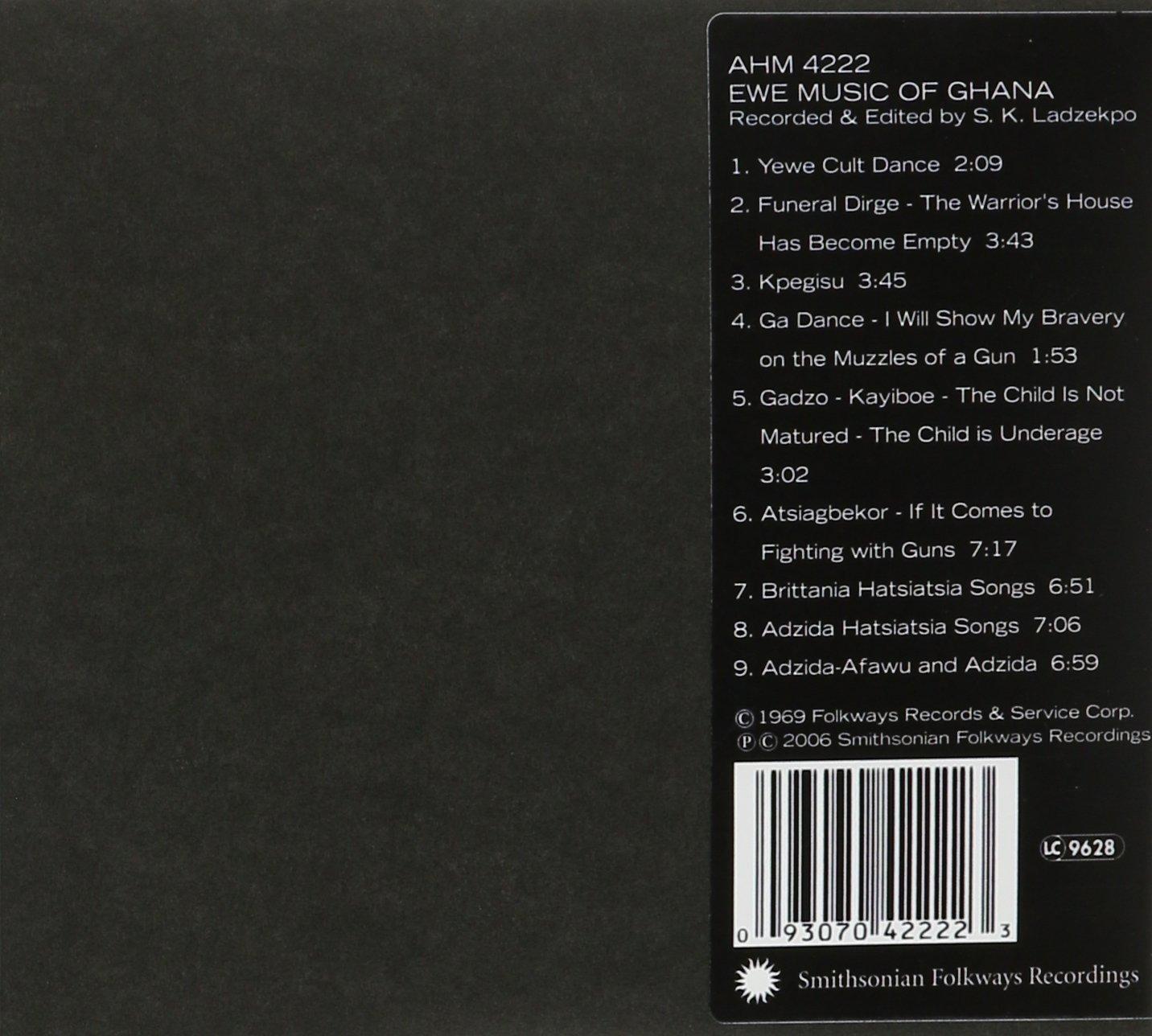 Ewe Music of Ghana / Various