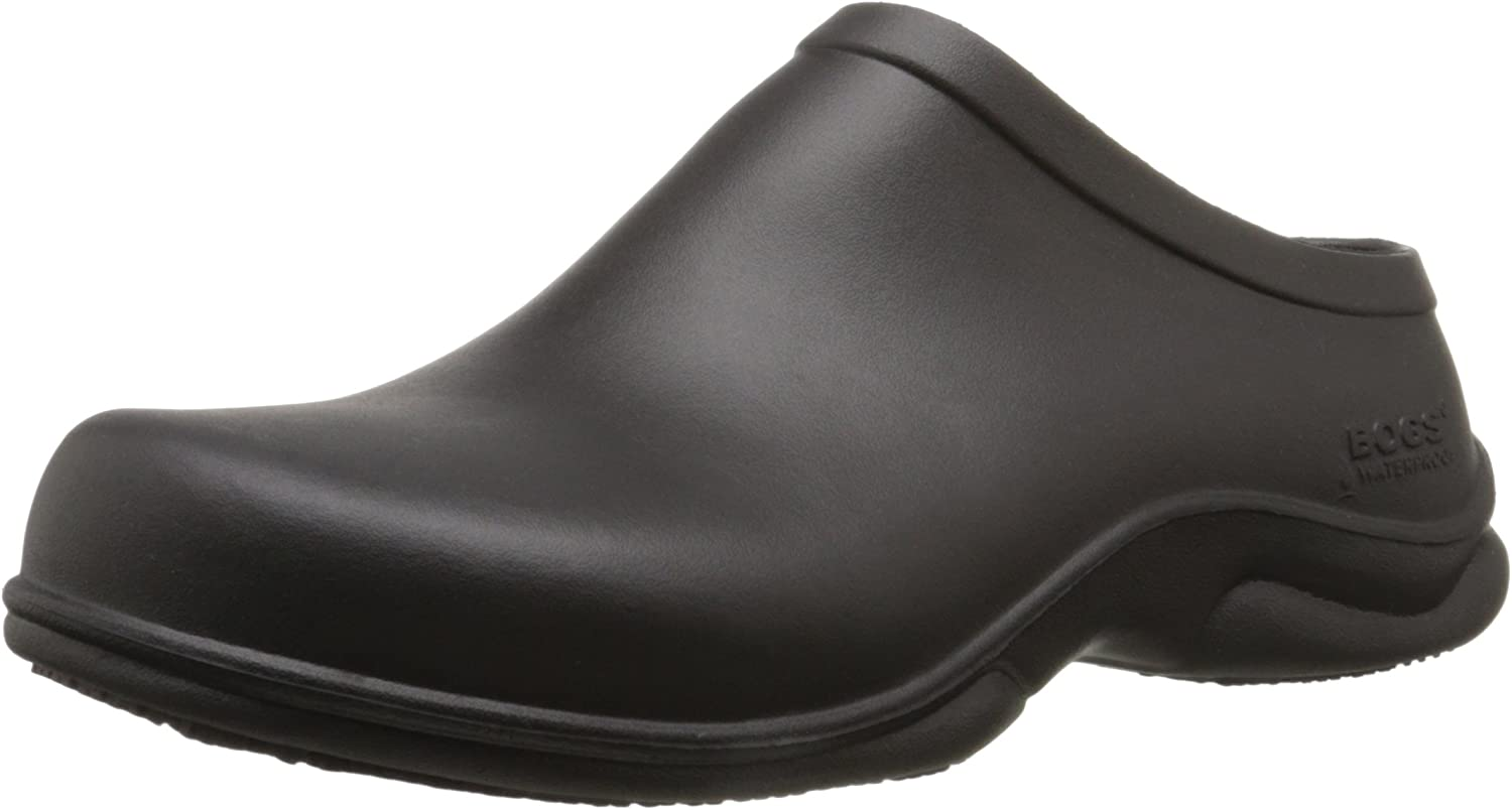 Bogs Men's Stewart Health Care & Food Service Work Clog Shoe